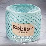 Трикотажная пряжа Bobilon (Бобилон) MICRO 3-5 мм ментол 690