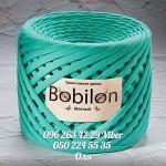 Трикотажная пряжа Bobilon (Бобилон) MICRO 3-5 мм мятный 701
