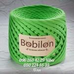 Трикотажная пряжа Bobilon (Бобилон) MICRO 3-5 мм зеленое яблоко 702