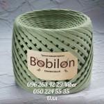 Трикотажная пряжа Bobilon (Бобилон) MICRO 3-5 мм оливковый 706