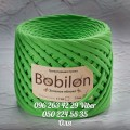 Пряжа Bobilon (Бобилон) MEDIUM    7-9 мм зелёное яблоко 05