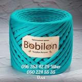 Пряжа Bobilon (Бобилон) MEDIUM    7-9 мм Голубая лагуна 034