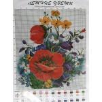Схема Летние цветы ( АРТ ЦС-097)