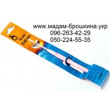 Крючок металлический с пластмассовой ручкой, артикул 58901