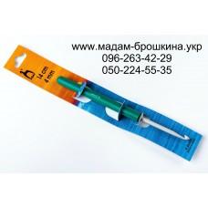 Крючок алюминиевый с тефлоновым покрытием и пластмассовой ручкой, артикул 46605
