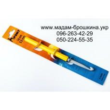 Крючок алюминиевый с тефлоновым покрытием и пластмассовой ручкой, артикул 46608