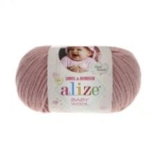 Пряжа Alize Baby Wool пудра 162