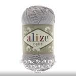 Пряжа Alize Bella цвет серый 21
