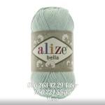 Пряжа Alize Bella цвет мятный 266