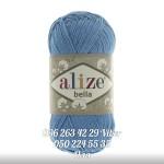 Пряжа Alize Bella цвет голубой сочи 387