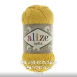 Пряжа Alize Bella цвет желтый 488