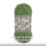 Пряжа Alize Bella цвет зеленый 492