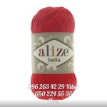 Пряжа Alize Bella цвет красный 56