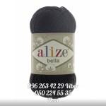 Пряжа Alize Bella цвет черный 60