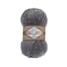 Пряжа Superlana Alize MIDI PULLU, цвет серый меланж, артикул 21