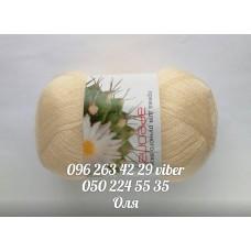 Пряжа Акрил №10, цвет крем, артикул 97556