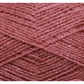 Акрил 16 (акрил с люрексом) брусничный/латте 12323