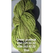 Пряжа Artistic (Артистик), цвет зеленый, артикул 003