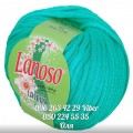 Lanoso Laseus зелено-бирюзовая  (№915)
