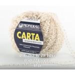 Пряжа Mondial CARTA (Мондиаль карта), цвет беж (№941)