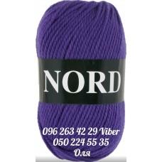 Пряжа Vita Nord (Норд), цвет сине-фиолетовый, артикул 4773