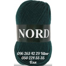 Пряжа Vita Nord (Норд), цвет темная-морская волна, артикул 4775