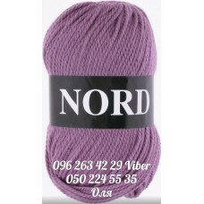 Пряжа Vita Nord (Норд), цвет грязная-сирень, артикул 4769