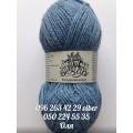 Пряжа Colored Wool, цвет голубой (№80601)