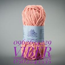 Пряжа Cottonel 65 (Котонель 65), цвет персик, артикул 03011