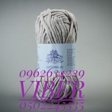 Пряжа Cottonel 65 (Котонель 65), цвет светло-серый, артикул 03012