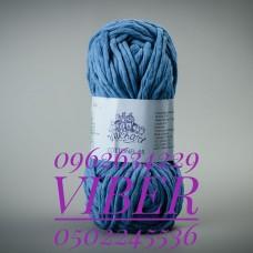 Пряжа Cottonel 65 (Котонель 65), цвет Насыщено голубой, артикул 03005