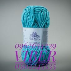 Пряжа Cottonel 65 (Котонель 65), цвет светло-бирюзовый, артикул 03006
