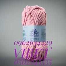 Пряжа Cottonel 65 (Котонель 65), цвет светло-розовый, артикул 03009