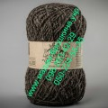 Пряжа шерстяная ТМ Vivchari Этно-Натура, цвет коричневый (№204)