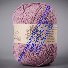 Пряжа смесовая зимняя ТМ Vivchari Semi-Wool, цвет сиреневый, артикул 401