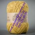 Полушерсятная пряжа ТМ Vivchari Semi-Wool, цвет желтый (№402)