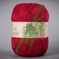 Полушерсятная пряжа ТМ Vivchari Semi-Wool, цвет красный (№403)
