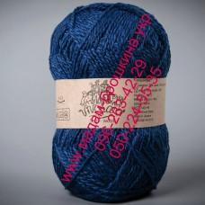 Пряжа смесовая зимняя ТМ Vivchari Semi-Wool, цвет василек, артикул 414