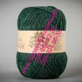 Пряжа полушерсть с ангорой  ТМ Vivchari Semi-Wool, цвет темно-зеленый (№304)