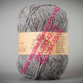 Пряжа полушерсть с ангорой  ТМ Vivchari Semi-Wool, цвет, натуральный серый (№305)